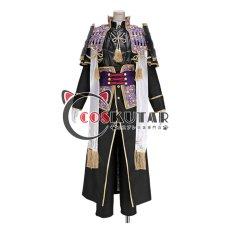 画像1: 刀剣乱舞 へし切長谷部 極 コスプレ衣装 防具付きバージョン (1)