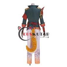 画像4: 戦刻ナイトブラッド 真田軍 真田幸村 コスプレ衣装 腰鎧と肩鎧なし (4)