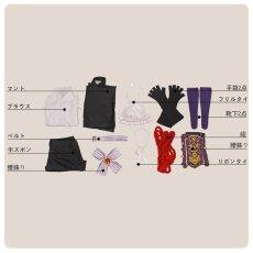 画像10: 戦刻ナイトブラッド 織田軍 森蘭丸 コスプレ衣装 (10)