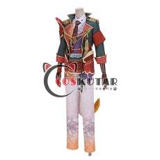 画像3: 戦刻ナイトブラッド 真田軍 真田幸村 コスプレ衣装 腰鎧と肩鎧なし (3)