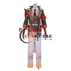 画像1: 戦刻ナイトブラッド 真田軍 真田幸村 コスプレ衣装 腰鎧と肩鎧なし (1)