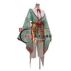 画像2: 戦刻ナイトブラッド 豊臣軍 竹中半兵衛 コスプレ衣装  (2)