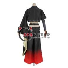 画像8: 刀剣乱舞 静形薙刀 コスプレ衣装 ファー付き (8)