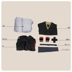 画像9: 刀剣乱舞 静形薙刀 コスプレ衣装 ファー付き (9)
