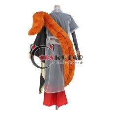 画像4: 刀剣乱舞 静形薙刀 コスプレ衣装 ファー付き (4)