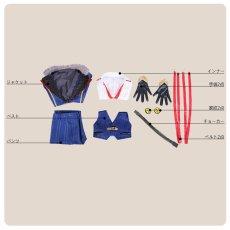 画像11: 刀剣乱舞 ミュージカル2部ライブ衣装 結びの響、始まりの音 堀川国広 コスプレ衣装 (11)