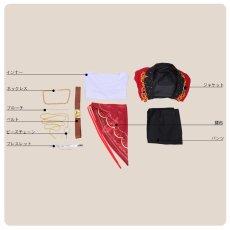 画像7: あんさんぶるスターズ! Saga*かけ上がるレインボーステージ 守沢千秋 コスプレ衣装 刺繍版 (7)