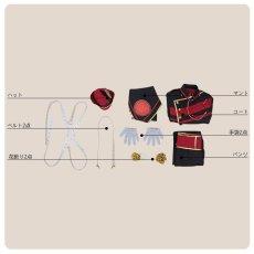 画像5: あんさんぶるスターズ! 招待★ブラックブラッドバンケット 大神晃牙 コスプレ衣装 (5)