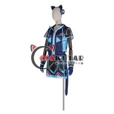 画像3: あんさんぶるスターズ アミューズメント☆ネコとウサギのライブパーティ 葵ゆうた コスプレ衣装 (3)