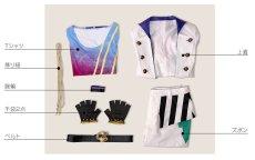 画像9: ツキウタ。 ONE CHANCE 文月海 ステージ衣装 コスプレ衣装 (9)