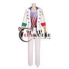 画像1: ツキウタ。 ONE CHANCE 文月海 ステージ衣装 コスプレ衣装 (1)
