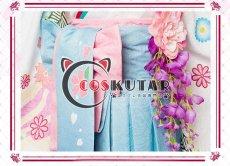 画像5: Fate/Grand Order FGO マシュ・キリエライト コスプレ衣装 正月礼装 概念礼装 いろはにほへと 和服  (5)