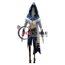 画像1: 第五人格 IdentityV 白鷹の舞 傭兵 ナワーブ・サベダー コスプレ衣装 (1)