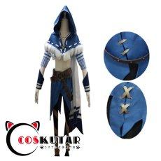 画像2: 第五人格 IdentityV 白鷹の舞 傭兵 ナワーブ・サベダー コスプレ衣装 (2)