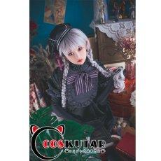 画像2: Fate/EXTRA FGO ナーサリー・ライム アリス コスプレ衣装 (2)