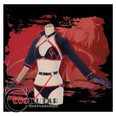 画像2: Fate/Grand Order FGO ジャンヌ・ダルク 水着 コスプレ衣装  (2)