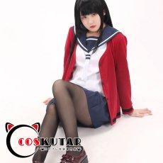 画像4: 川柳少女 雪白七々子 毒島エイジ コスプレ衣装 (4)