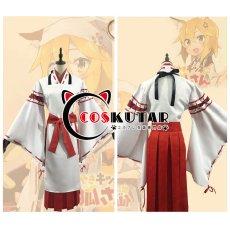画像5: 世話やきキツネの仙狐さん 主人公 仙狐 コスプレ衣装 (5)