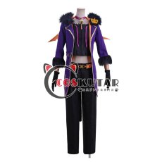 画像1: あんさんぶるスターズ! スカウト!噪音◆渦巻くホラーナイトハロウィン 明星スバル コスプレ衣装 (1)