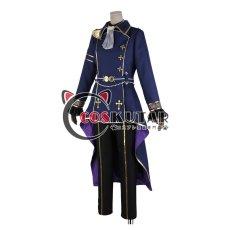 画像2: あんさんぶるスターズ! スカウト! 噪音◆渦巻くホラーナイトハロウィン 月永レオ コスプレ衣装 (2)