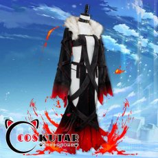 画像4: Fate/Grand Order FGO 虞美人 コスプレ衣装 霊基再臨 第三段階 最終再臨 (4)