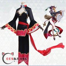 画像2: Fate/Grand Order FGO 酒呑童子 キョンシー コスプレ衣装 (2)
