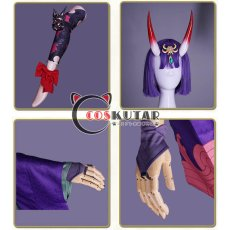 画像9: Fate/Grand Order FGO 酒呑童子 コスプレ衣装 霊基再臨 第二段階 (9)