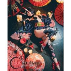 画像4: Fate/Grand Order FGO 酒呑童子 コスプレ衣装 霊基再臨 第二段階 (4)