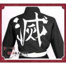 画像6: 鬼滅の刃 鬼殺隊 炎柱 煉獄杏寿郎 コスプレ衣装 (6)