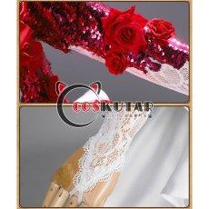 画像16: 第五人格 IdentityV スカーレットの新婦 調香師 ウィラ・ナイエル コスプレ衣装 (16)