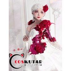 画像4: 第五人格 IdentityV スカーレットの新婦 調香師 ウィラ・ナイエル コスプレ衣装 (4)