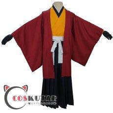 画像2: 鬼滅の刃 日の呼吸の剣士 継国縁壱 コスプレ衣装 (2)