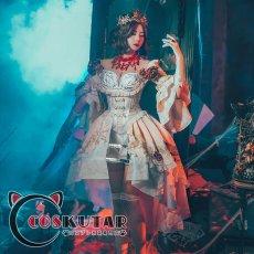 画像2: 第五人格 IdentityV 血祭り 血の女王 マリー コスプレ衣装 (2)