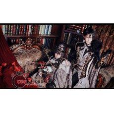 画像5: 黒執事 Book of Circus 夢王国と眠れる100人の王子様  覚醒後 太陽 セバスチャン コスプレ衣装 (5)
