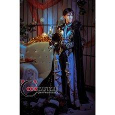 画像3: 黒執事 Book of Circus 夢王国と眠れる100人の王子様  覚醒後 太陽 セバスチャン コスプレ衣装 (3)