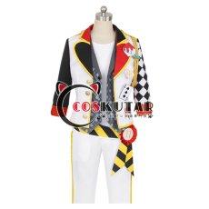 画像1: ツイステッドワンダーランド ツイステ トレイ・クローバー コスプレ衣装 (1)