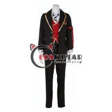 画像1: ツイステッドワンダーランド ツイステ 制服 トレイ・クローバー コスプレ衣装 6月17日より修正 (1)