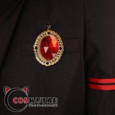 画像10: ツイステッドワンダーランド ツイステ 制服 トレイ・クローバー コスプレ衣装 6月17日より修正 (10)