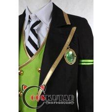 画像11: ツイステッドワンダーランド ツイステ 制服 シルバー コスプレ衣装 (11)