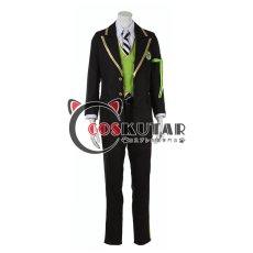 画像1: ツイステッドワンダーランド ツイステ 制服 シルバー コスプレ衣装 (1)