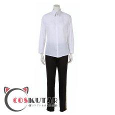 画像7: ツイステッドワンダーランド ツイステ 制服 シルバー コスプレ衣装 (7)