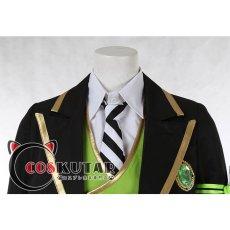 画像10: ツイステッドワンダーランド ツイステ 制服 シルバー コスプレ衣装 (10)