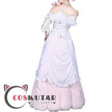 画像2: 第五人格 identityV レディ・ベラ 血の女王 マリー コスプレ衣装 (2)