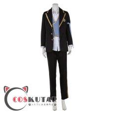 画像1: ツイステッドワンダーランド ツイステ 制服 フロイド・リーチ コスプレ衣装 (1)