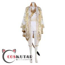画像2: ツイステッドワンダーランド ツイステ ガラクチュール レオナ・キングスカラー コスプレ衣装 (2)