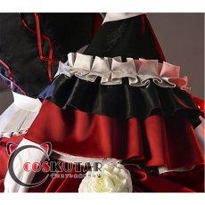 画像6: 第五人格 IdentityV 仲夏茶会 血の女王 マリー コスプレ衣装 (6)