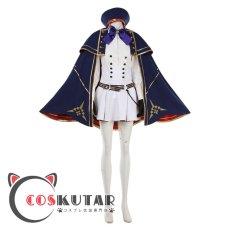 画像2: Fate/Grand Order FGO アルトリアキャスター コスプレ衣装 第二段階 (2)