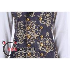 画像15: ツイステッドワンダーランド ツイステ なりきり花婿 リドル・ローズハート コスプレ衣装 (15)