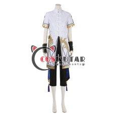 画像1: Fate/Grand Order FGO 霊衣:辨天衣 蘭陵王 コスプレ衣装 (1)