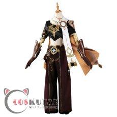画像2: 原神 Genshin 主人公 空 コスプレ衣装 (2)